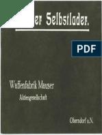 Mauser Selbstlader Manual