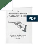 Selbstlade-Pistole Parabellum 08 De