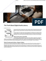 PreSonus _ Learn - The Truth About Digital Audio Latency