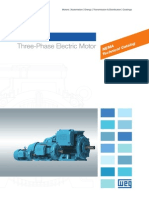 WEG w22 Three Phase Motor Technical Nema Market 50029265 Brochure English