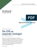 Accenture Outlook CFO as Corporate Strategist Finance