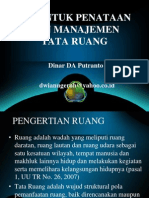 GIS untuk Penataan dan Manajemen Tata Ruang