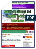 IDENTIFYING GENUINE AND RELIABLE TECHNICAL INFORMATION