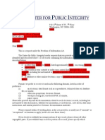 FOIA Sample From CPI Attorney Peter Smith
