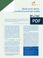 Social work sector