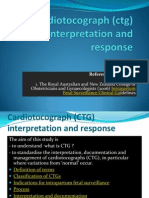 Cardiotocograph (Ctg) Interpretation and Response