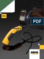 Камера эндоскоп со стандартом передачи WiFi Rems Camscope