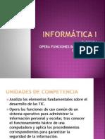 INFORMATICA 1 Segundo Periodo2011