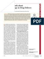 Facing Truth About Nanotech in Drug Delivery