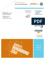 Santa Fe Run Around_2014 Flyer