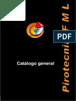 Catalogo Pirotecnia