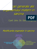 5Modificari Generale in Sarcina