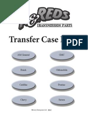 GM Transfer Case CD Web1