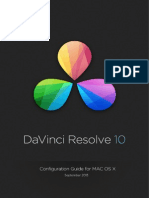 DaVinci Resolve Mac Configuration Guide Sept 2013