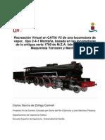 Locomotora - Universidad de Sevilla Catia v5