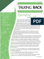 talkingback newsletter 2007 spring