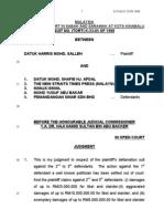 Microsoft Word - 204 K-23!5!1998 Dtk Haris Mohd Salleh v. Dtk Mohd. Shafie Apdal & 4 Ors