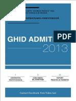 Ghid Admitere Foto Video 2013