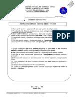Caderno de Prova Do 1 Ano Ensino Fundamental - 2013