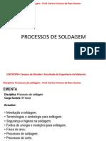 Aulas de Soldagem