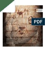 A arte rupestre é compreendida como o amplo conjunto de desenhos