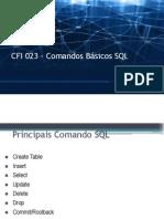 Cfi 023 Banco Dados Aula 03