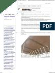 Solicito información para fabricación de tijerales de varillas de fierro corrugado