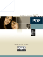 Odyssey House 2007 Annual Report