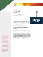 T5 8 Watt Data Sheet