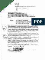 Convocatoria Medicos Nacional