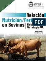 Relacion Nutricion Fertilidad en Bovinos.