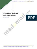 COMPONER SONETOS