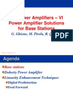 Rf Power Amplifiers Vi (2010) - Base Stations