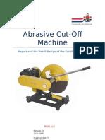 Cut-Off Machine Report