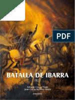 Libro Batalla de Ibarra