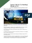 Al Qaeda Magazine Calls for Car Bombings in U