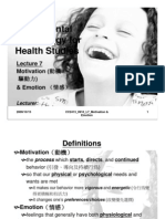 CC2413 Fundamental Psychology for Health Studies