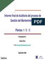 informe-auditoria-compañía eléctrica