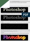Tutoriales de Photoschop