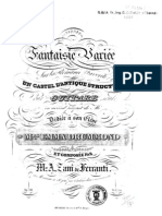 Zani de Ferranti, M. A._ Op. 20. Fantaisie variée ... Boije 539