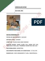Dr Del Rio Victor Emilio Curriculum Vitae