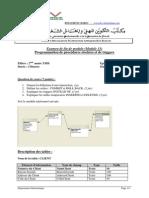 Examen de fin de module Programmation de procédures stockées et de triggers