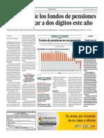 Ganancias fondos pensiones llegarían dos dígitos 2014_El Comercio_20-03-2014