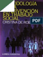 Metodologia de La Intervencion Trabajo Social
