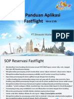 SOP & Panduan Aplikasi Fastflight