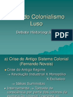 Crise Do Colonialismo Luso