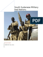 Exclusive South Sudanese Military Targets United Nations