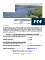 Springfield Water Quality Report