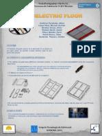 Piezoelectric Floor_Poster A3
