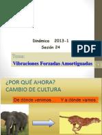2013-1-VIBRACIONES FORZADAS AMORTIGUADAS